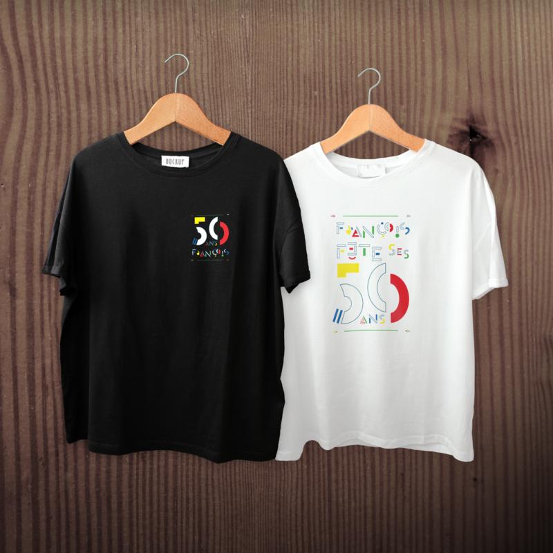 T-shirt événementiel