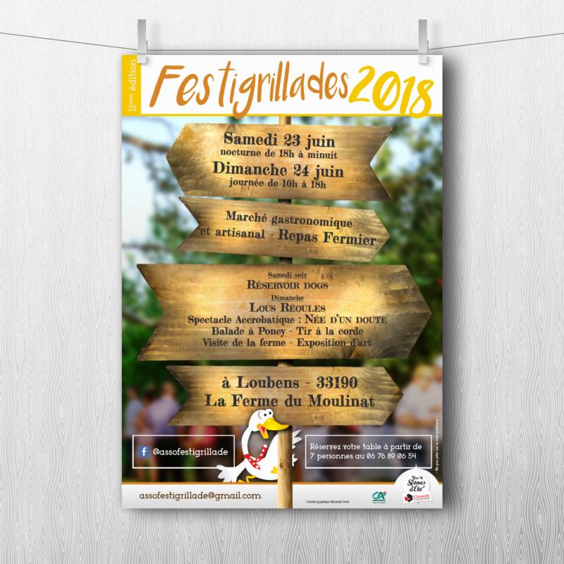 Affiche Festigrillades 2018